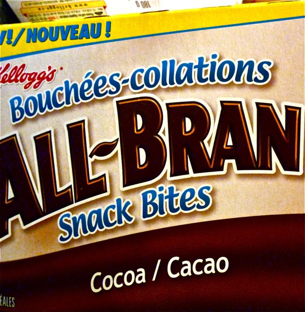 all Bran snack Bites cacao
